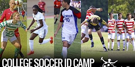 Soccer ID camp - NCAA, NAIA & NJCAA Universities tickets