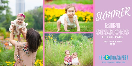 Summer Mini Kids or Family Photo Sessions tickets