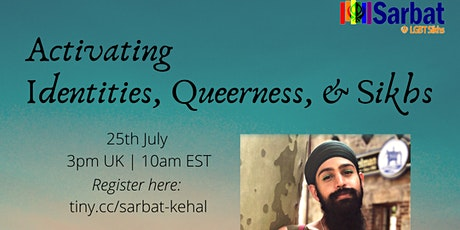 Activating Identities, Queerness, and Sikhs tickets