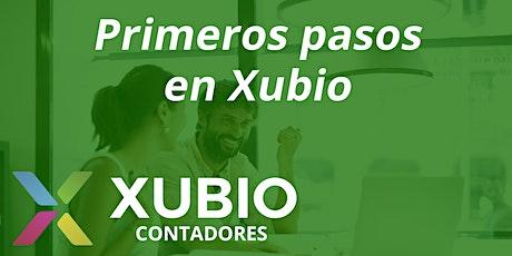 Webinar: Primeros pasos en Xubio -  Contadores entradas