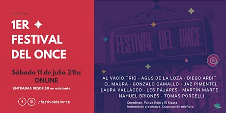 1er Festival del Once billets