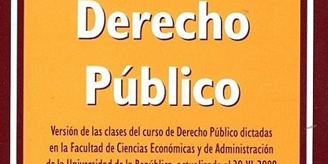 DERECHO PUBLICO On-line Julio/2020 tickets