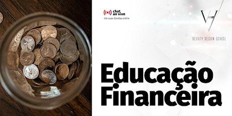 Curso Educação Financeira com Rafael Pires bilhetes