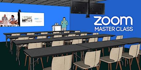 ZOOM Master Class | Instituciones Educativas entradas