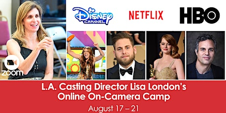 L.A. Casting Director Lisa London's Online On-Camera Camp tickets