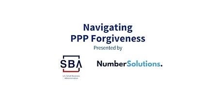"SBA Hosts Kristina Bergstad, CPA:  ""Navigating PPP Forgiveness"" tickets"