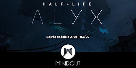 Soirée Half-Life Alyx chez MindOut Lille billets