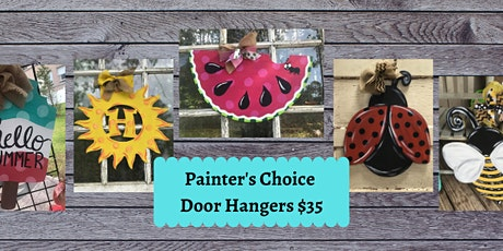 Painter's Choice Door Hanger OR Porch Planter Sign tickets