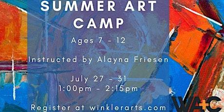 Kids Summer Art Camp tickets
