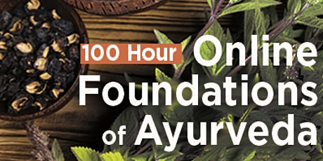 Online 100 Hour Foundations of Ayurveda tickets