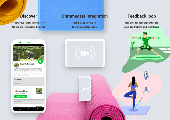 60-Min Free Intermediate Online Virtual Yoga Lvl 2 3 with Sera — IE image