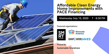 Make Affordable Clean Energy Home Improvements with PACE Financing tickets