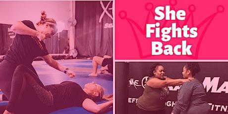 She Fights Back - Self Defense Workshop tickets