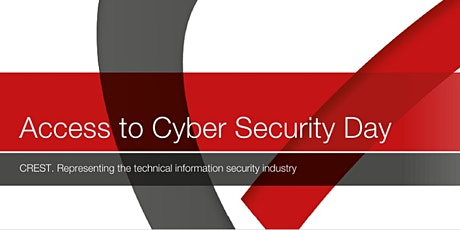 Access to Cyber Security Day tickets