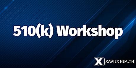 510(k) Workshop 2020 tickets