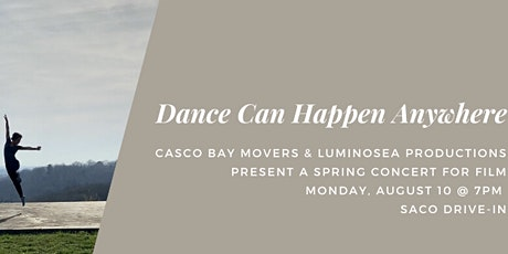 CBM presents Dance Can Happen Anywhere tickets
