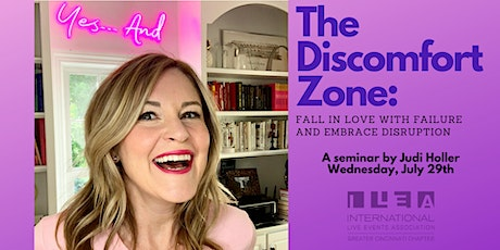 The Discomfort Zone: Fall in Love with Failure and Embrace Disruption tickets