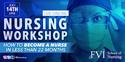 Live Online Nursing Talk: How to become a nurse in less than 22 months