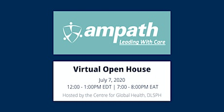 AMPATH Virtual Open House tickets