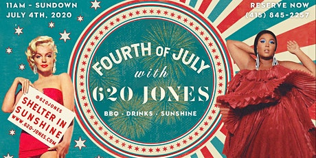 4th of July with 620 Jones tickets