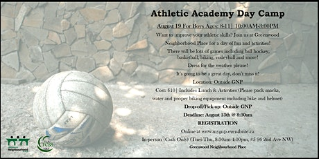 Athletic Academy Day Camp tickets