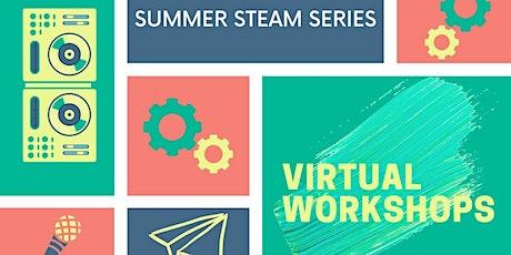 Summer STEAM Series: Parachutes and Aerodynamics tickets