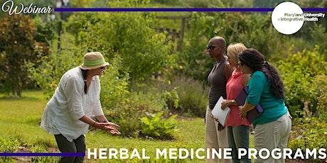 Webinar | Herbal Medicine Programs tickets