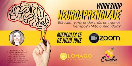 Workshop sobre Neuroaprendizaje biglietti