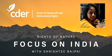 Rights of Nature: Focus on India tickets