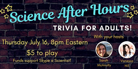 Science After Hours Trivia with Vanessa Hill tickets