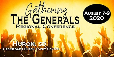 Gathering the Generals Regional Conference 2020 tickets