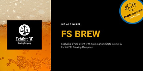 FS Brew with Exhibit 'A' Brewing Company - Virtual Beer Tasting tickets
