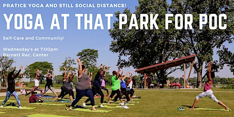 Yoga at the Park for POC tickets