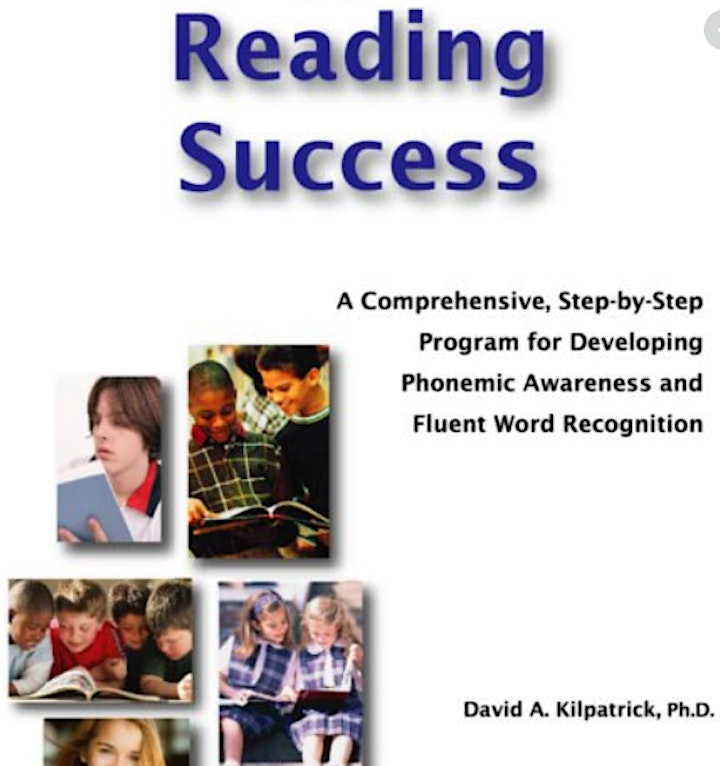 BOOK STUDY (July 20 & 27): Equipped for Reading Success by David Kilpatrick image