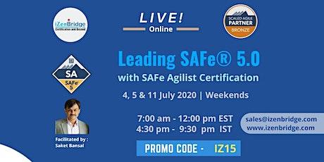 Leading SAFe (SAFe Agilist ) 5.0 Training – Virtual Training tickets