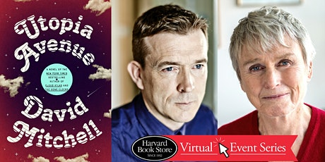 "Virtual Event: David Mitchell presents ""Utopia Avenue"" with Susan Cooper tickets"