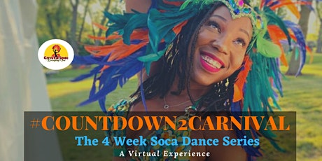 #Countdown2Carnival! The 4 Week Soca Dance Series tickets