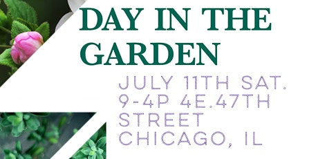 Day in the Garden tickets