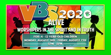 VBS 2020 - Worshipers in the Spirit and in Truth tickets
