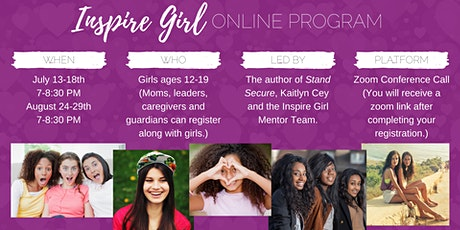 Inspire Girl Online Program Tickets