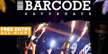 BarCode Saturdays tickets