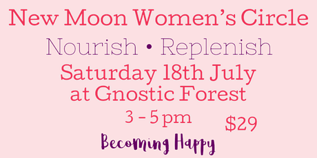 New Moon Women's Circle tickets