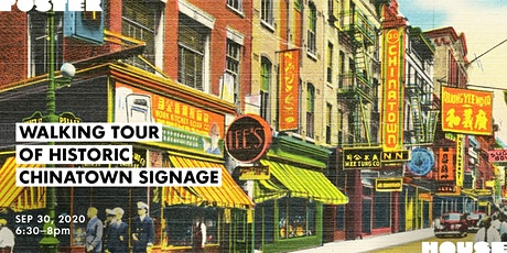 Walking Tour of Historic Chinatown Signage tickets
