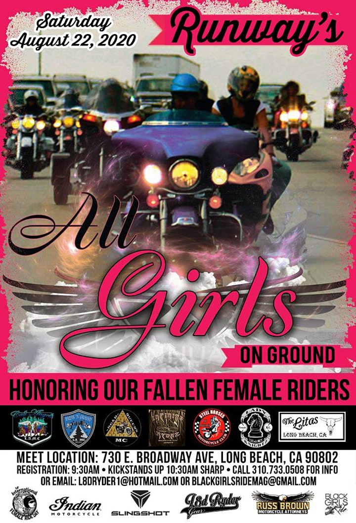 Runway's All Girls On Ground Ride - IFRD 2020 image
