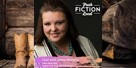 Video Book Club with Author Jolene Navarro tickets