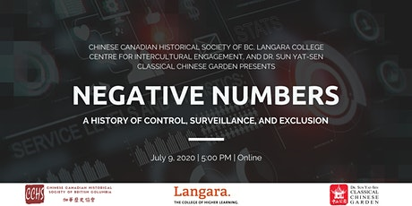 Negative Numbers: A History of Control, Surveillance, and Exclusion tickets