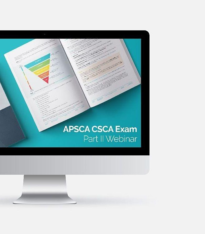 July 31 (China) - APSCA Informational Chinese Webinar: CSCA Exam Part II image
