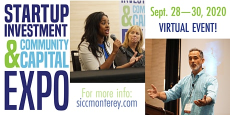 2020 Startup Investment & Community Capital Expo tickets