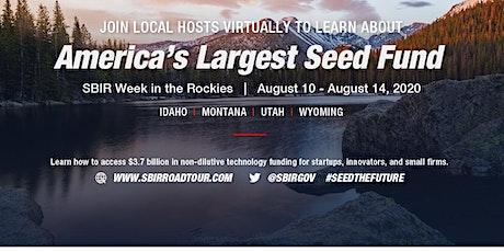 SBIR Week in the Rockies, Utah tickets