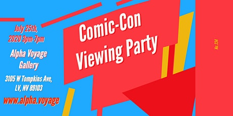 Comic-Con Viewing Party tickets